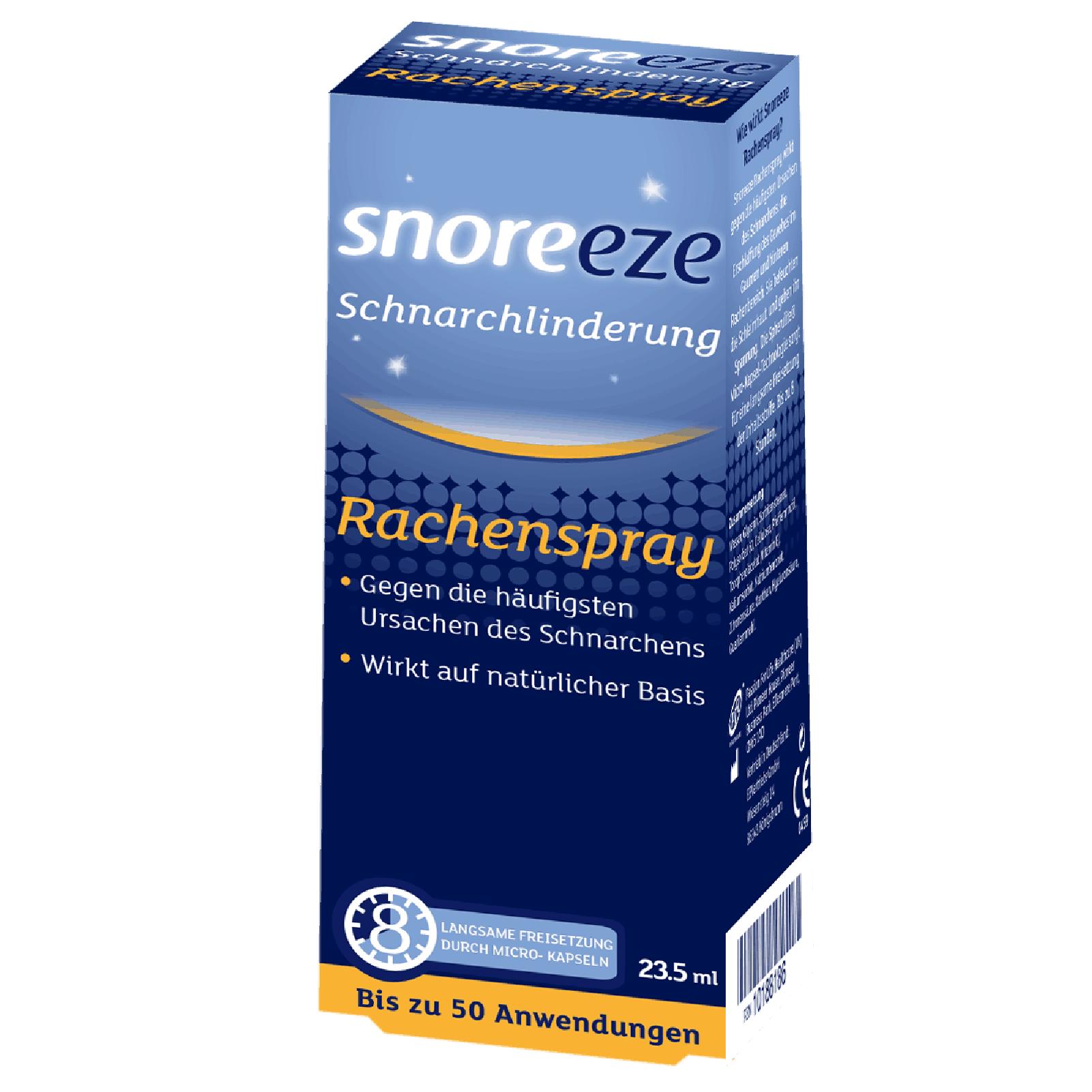 Schnarchlinderung Rachenspray